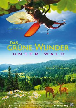 Filmplakat - Das grüne Wunder - Unser Wald