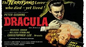 Filmplakat Dracula mit Peter Cushing