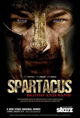 Filmplakat - Spartacus - Blood and Sand
