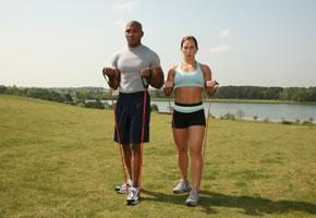 Fitness mit dem Fitnessband