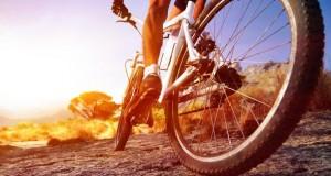 Fitnesstraining geht auch mit dem Fahrrad.