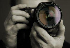 Fotokunst - Fotograf bei der Arbeit