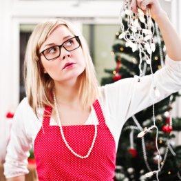 Frauen stehen an Weihnachten besonders unter Stress