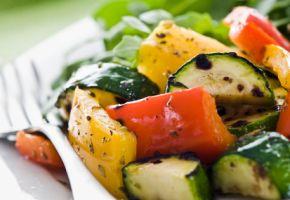 Frisches Gemüse hat wenig Kalorien