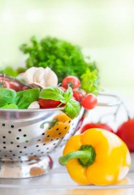 Frisches Gemüse senkt das Krankheitsrisiko