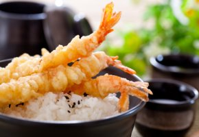 Frittierte Garnelen - Tempura hat ordentlich Kalorien