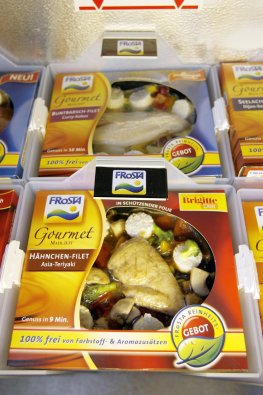 Frosta Tiefkühlgerichte - Gorumet Menüs