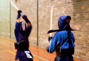 Fumikomiashi: Kigai der Gegner wird attackiert