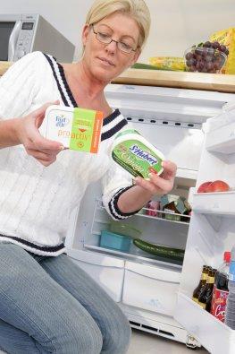 Functional Food - cholesterin senkende Butter und Butter mit Omega3-Fettsäuren