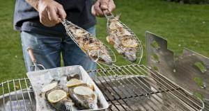 Damit sich auf dem Gartengrill keine Bakterien sammeln, muss der Grill zweimal im Jahr gereinigt werden.