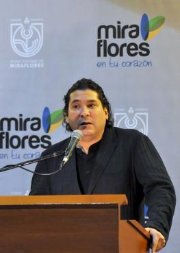 Gastón Acurio bei einem Vortrag