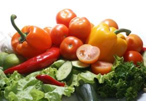 Gemüse für eine gesunde Ernährung