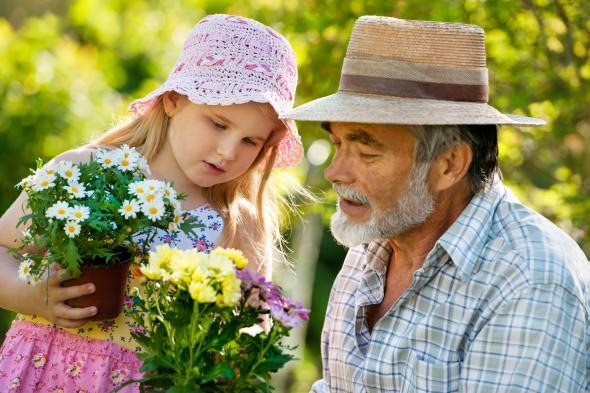 Die Großfamilie vereint unterschiedliche Generationen zu einer Einheit.