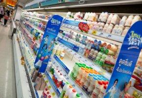 Gerade bei Milchprodukten gibt es vielen Markenprodukte als No-Names.