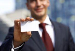 Geschäftsausstattung - Die Visitenkarte