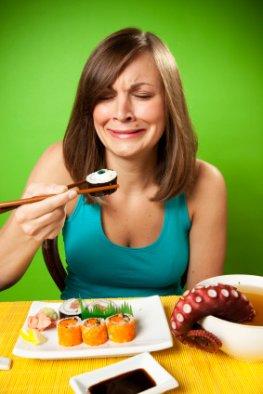 Geschmacklos - Sushi ohne Gewürze und Soßen