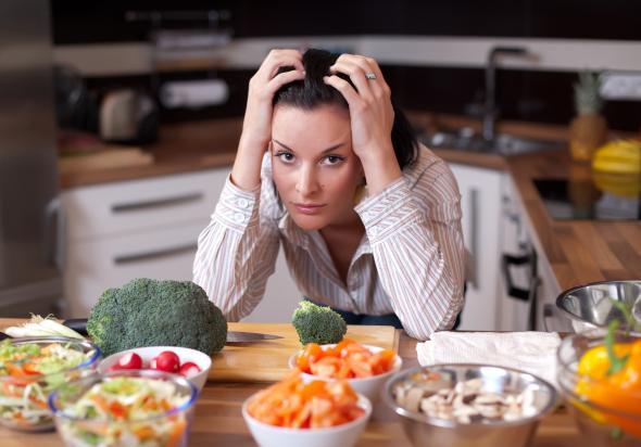 Nicht immer sind gesunde Nahrungsmittel auch Energielieferanten.