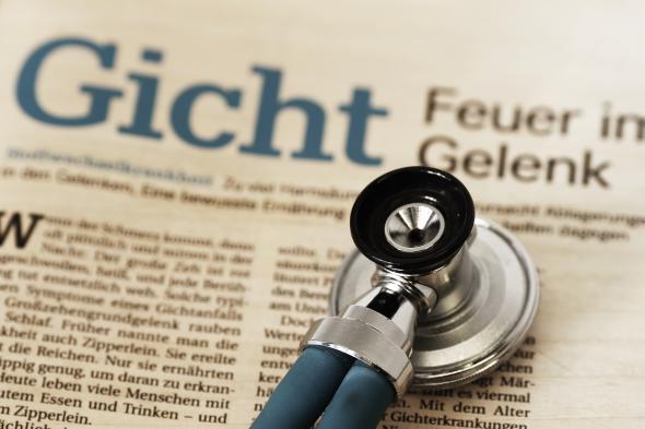 Gicht ist eine Wohlstandserkrankung, die durch purinhaltige Nahrung entsteht.
