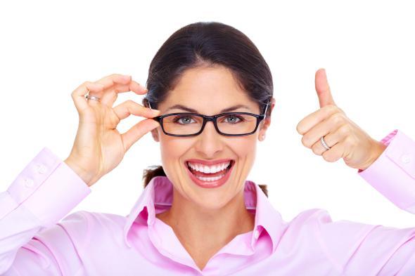 Eine Gleitsichtbrille lässt uns im nahen und fernen besser sehen.
