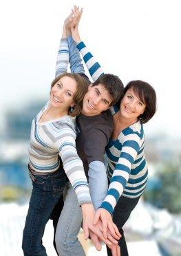 Glücksgefühle gemeinsam erleben