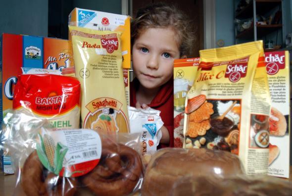 Marie Stock mit ihren Glutenfreien Nahrungsmittel
