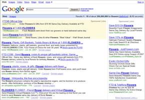 Google Adsense: Textwerbung in den Suchergebnissen