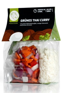 Grünes Thai Curry - Convenience Food von Youcook
