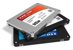 Halbleiter-Speicher - die SSD-Festplatten gelten als Ausfall sicher