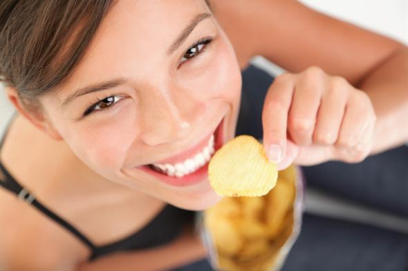 Beim Happy Eating isst man zuviel von den falschen Dingen.