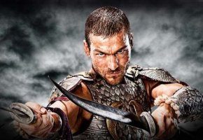Hauptdarsteller Andy Whitfield der Spartacus in Blood and Sand