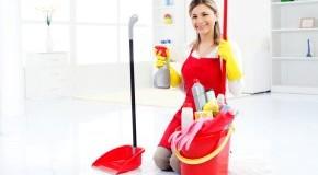 Haushaltspflege: Reinigung der Wohnung