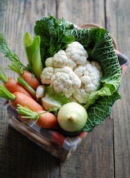 Herbstgemüse enthält viele Vitamine
