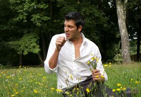 Heuschnupfen eine Pollen Allergie