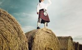Highlands - Schottischer Whisky Trinker