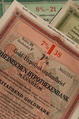 Historischer Pfandbrief