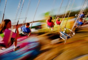 Hohe Lärmbelastung im Freizeitpark