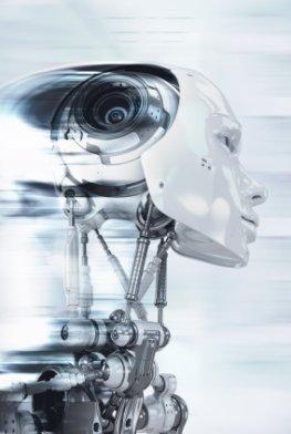 Humanoide Roboter der Zukunft