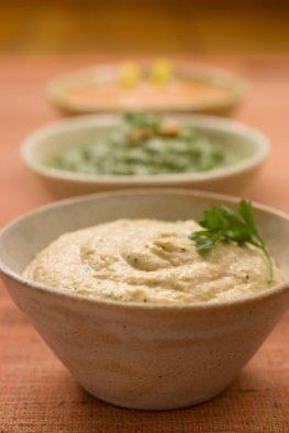 Hummus als leckerer Dip