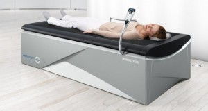 Die HydroJet-Massage kann für Entspannung in den Muskeln sorgen.