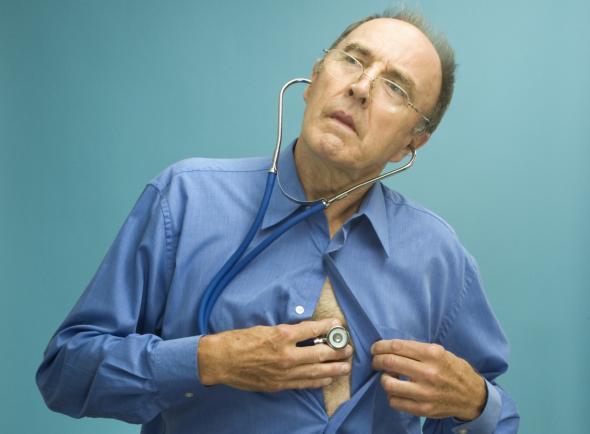 Hypochonder sind permanent mit Krankheiten beschäftigt, obwohl sie gesund sind.