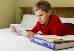 In den USA können Schüler mit dem iPad lernen