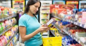 Tierische Produkte in Lebensmittel ohne Kennzeichnung.