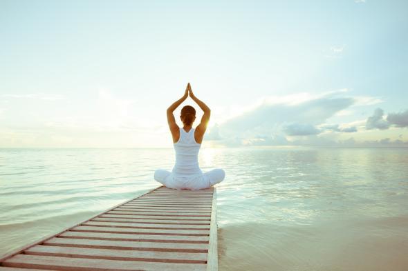 Indian Balance ist Yoga mit indianischen Elementen.