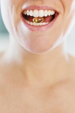 Ingwerkapsel - Ingwer gegen Menstruationsbeschwerden