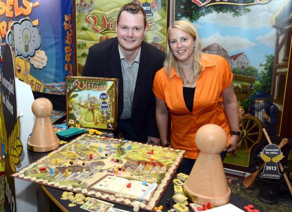 Preisverleihung in Berlin - Inka und Markus Brand