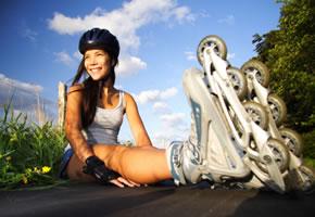 Inline-Skaten macht viel Spass