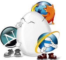 Internet Browser im Zweikampf um die Gunst der User
