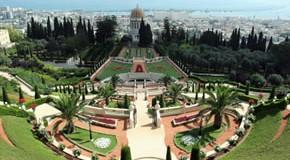 Israel - Bahai Garten in Haifa