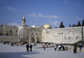 Israel - Die Klagemauer in Jerusalem