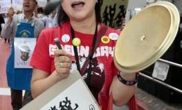 Anti-Atomkraftwerk Demo in Japan - Japaner gehen auf die Strasse